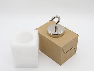 Поисковый неодимовый магнит. 60х68мм.