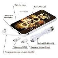 Новогодняя универсальная мобильная батарея 2020, 5000 мАч (E505-46), фото 4