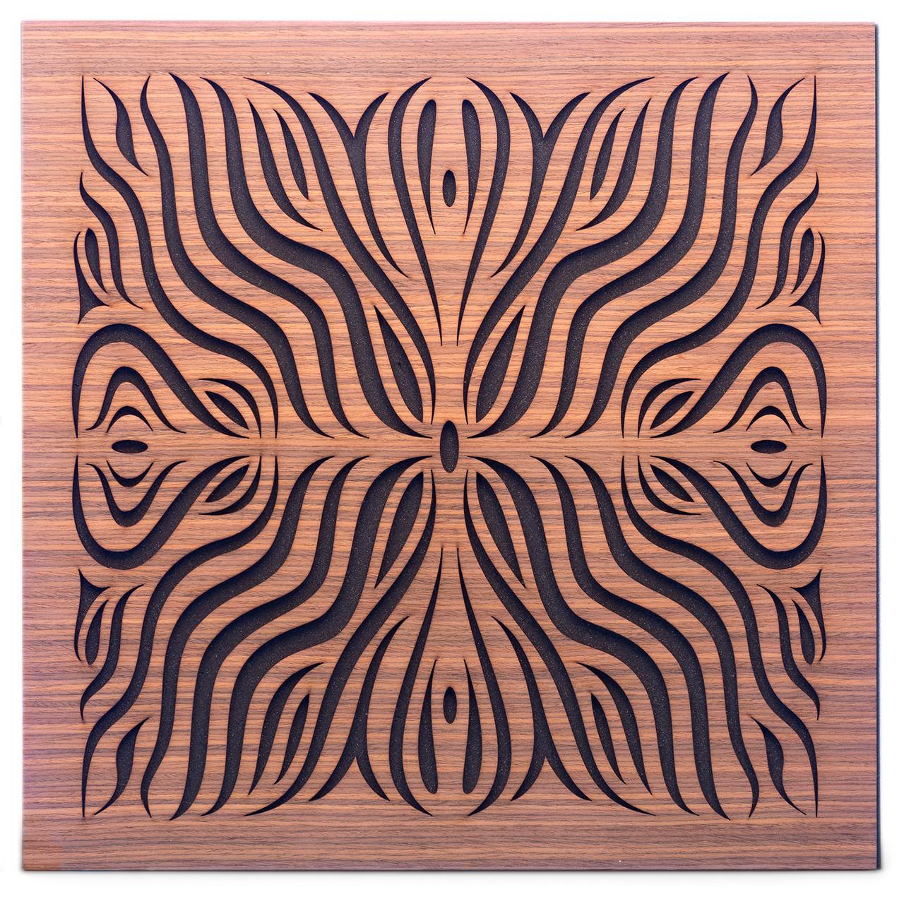Акустична панель Ecosound Chimera F Rosewood 50х50см 33мм колір коричневий