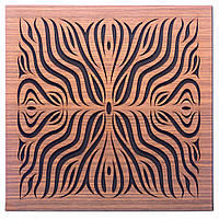 Акустическая панель Ecosound Chimera F Rosewood 50x50см 33мм цвет коричневый, фото 1