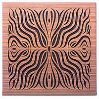 Акустична панель Ecosound Chimera F Rosewood 50х50см 33мм колір коричневий, фото 1