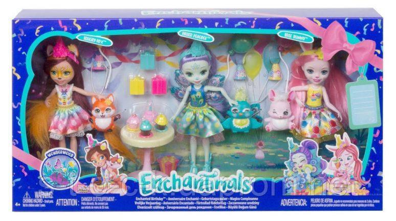 Набор игровой День рождения Enchantimals GJX22