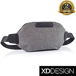 Водоотталкивающая бананка, Поясная сумка с защитой от порезов XD Design Urban Boombag (P730.062)