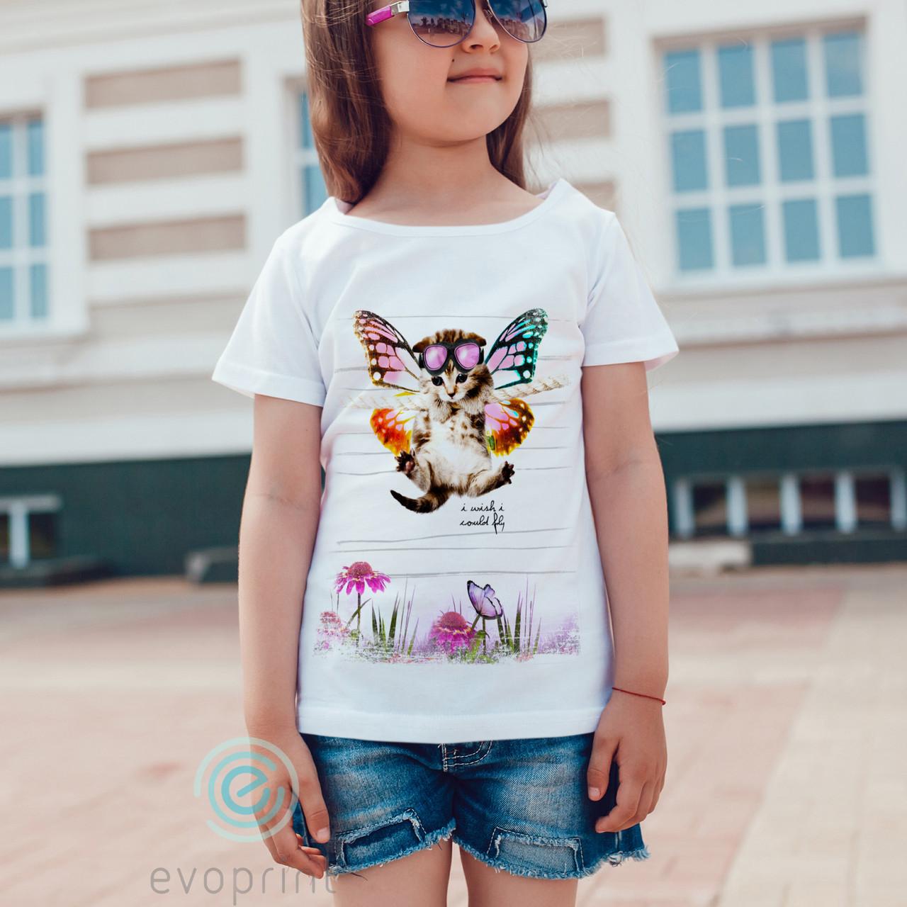 Полноцветная печать на детских футболках