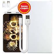 Новогодняя универсальная мобильная батарея 2020, 10000 мАч (E510-46), фото 5