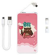 Дополнительный универсальный аккумулятор All You Need Is Love, 5000 мАч (E505-54), фото 3