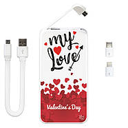 Универсальная мобильная батарея My  Love, 5000 мАч (E505-58), фото 3