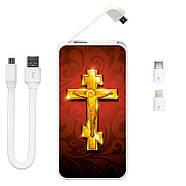 Портативный аккумулятор Христос Воскрес, 5000 мАч (E505-59), фото 3