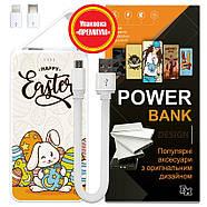 Power Bank с принтом Пасхальные Кролики, 5000 мАч (E505-61), фото 6