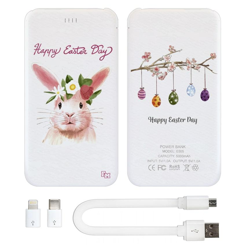 Внешнее зарядное устройство Happy Easter Day, 5000 мАч (E505-62)