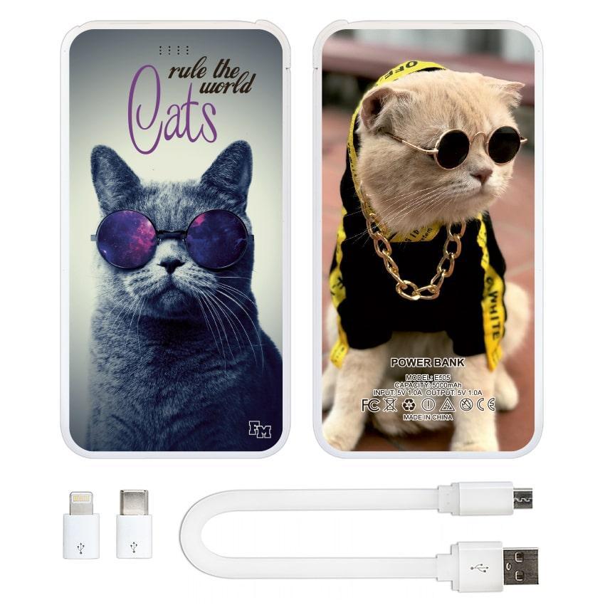 УМБ (повербанк) Коты Управляют Миром, 5000 мАч (E505-67)
