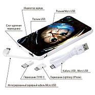 Дополнительная мобильная батарея Кот Космонавт, 5000 мАч (E505-68), фото 4