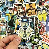 "25шт. Наклейки стикеры на ноутбук, скутер , скейт, шлем, автомобиль ""Во все тяжкие "" (748585944), фото 2"