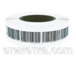 Антикражные этикетки 40х40 штрих код