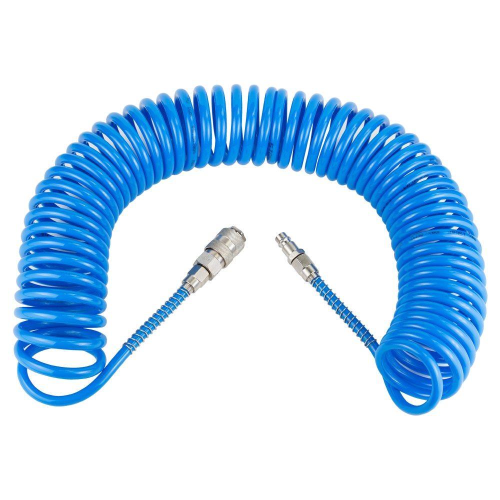 Шланг спиральный полиуретановый (PU) 10м 5.5×8мм SIGMA (7012021)