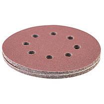 Шлифовальный круг 8 отверстий Ø125мм P120 (10шт) SIGMA (9122671), фото 3