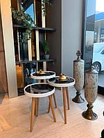 Столики под кофе набор 3 шт. РАСПРОДАЖА!!!