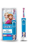 Детская электрическая зубная щётка Oral-B Stages с персонажами из «Холодного Сердца»