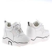 Женские кроссовки массивные Z8613 WHITE KOGA весна 2020, фото 1