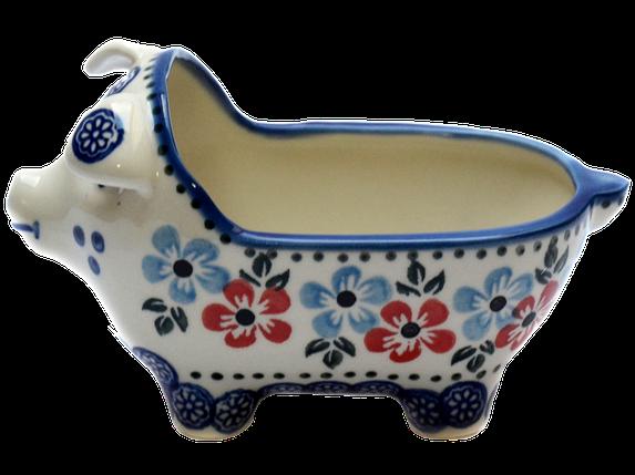 Керамическая форма Свинка для соусов и дипов Bloom, фото 2