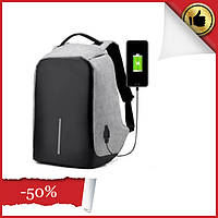 Умный городской рюкзак АнтиВор XD Design Bobby, Универсальный швейцарский Рюкзак-антивор с USB Bobby Back