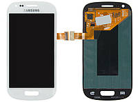 Дисплей + touchscreen (сенсор) для Samsung Galaxy S3 mini i8190, белый, оригинал