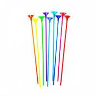 Палочки для шариков 35 см, цветные
