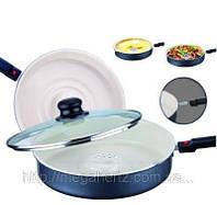 Сковородка паровая Dry Cooker Драй кукер Керамика, фото 1