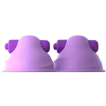 Вакуумные стимуляторы для сосков Fantasy For Her Vibrating Nipple Suck-Hers с вибрацией