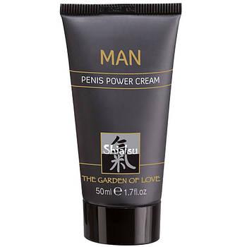 Крем для усиления эрекции Hot Shiatsu Penis Power Cream