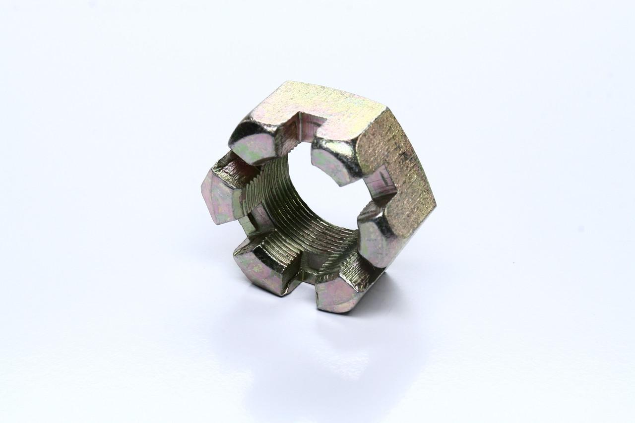 Гайка М30х1,5 пальца реактивного коронч. КАМАЗ (высокая, цинк.). 5511-2919031