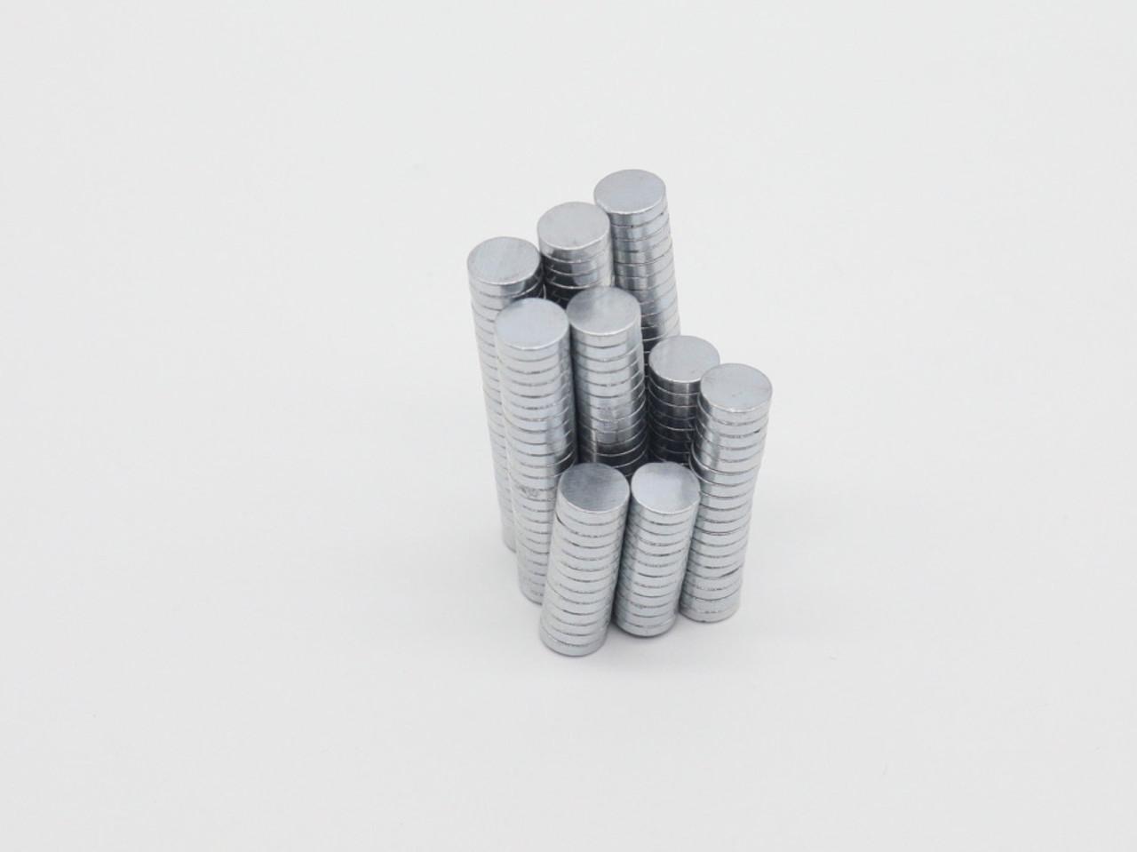 Неодимові магніти. 8х2мм