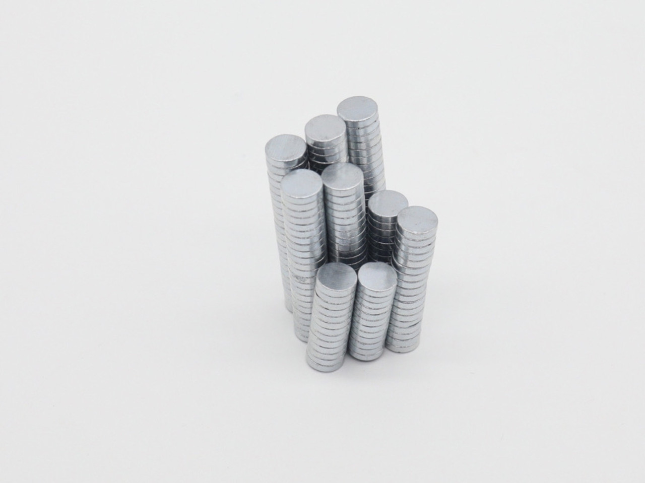 Неодимовые магниты. 8х2мм