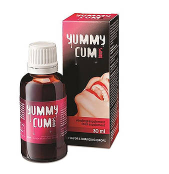 Капли для улучшения вкуса спермы Yummy Cum Drops 30 мл
