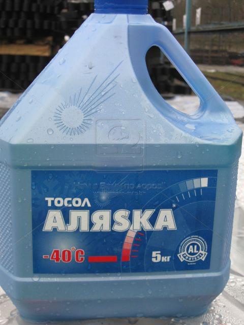 Тосол АЛЯSКА А-40 5кг. 5067