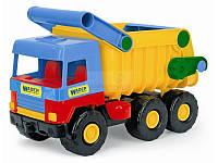 """Самосвал грузовик  Wader  - детская машинка серии """"Middle truck"""""""