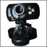 USB веб камера с подсветкой и микрофоном DC-005