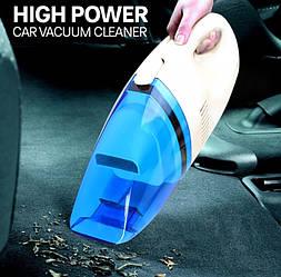 Автомобільний пилосос High-power Portable Vacuum Cleaner 60W 12V від прикурювача