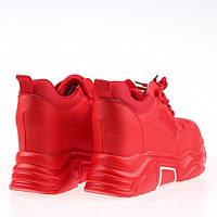 Женские яркие кроссовки массивные Z8613 RED KOGA весна 2020, фото 1
