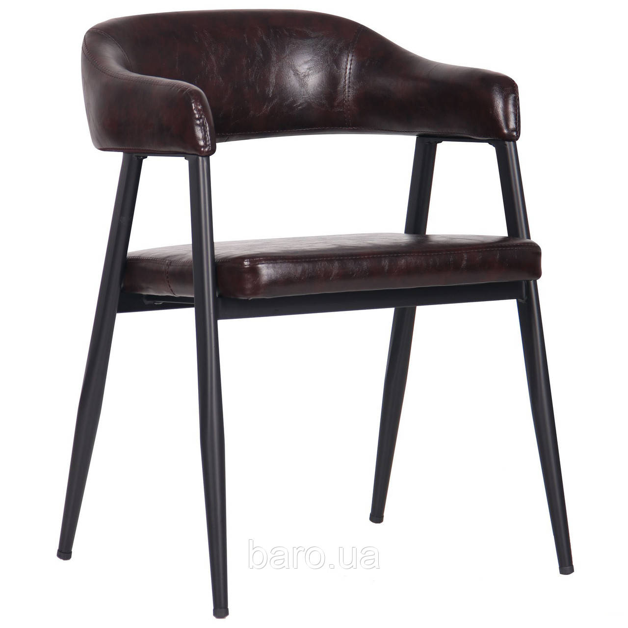 Кресло Ramones dark brown (Рамонес), темно-коричневый, Бесплатная доставка
