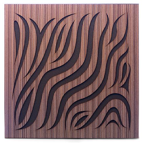 Акустическая панель Ecosound Chimera Venge Contrast 50x50см 33мм цвет коричневый в полоску
