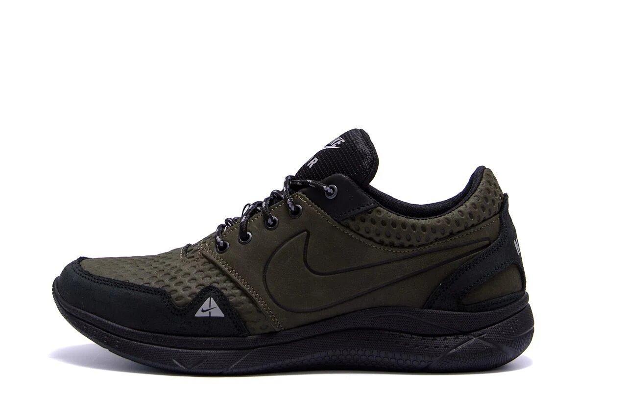 Мужские кожаные кроссовки  Nike Air Max Flex Zone р. 43