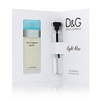 Масляный мини-парфюм с феромонами Dolce & Gabbana Light Blue 5 мл
