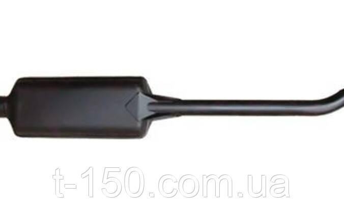 Глушитель МТЗ с двигателем Д-245 черный (L=1370 мм) (245-1205015)