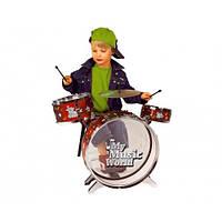Музыкальный инструмент Барабанная Установка со Стульчиком Simba 6839858