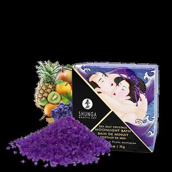 Соль для ванны Shunga Moonlight Bath Exotic Fruits 75г