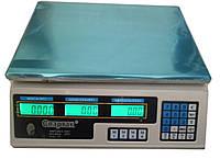 Торговые настольные электронные весы на 40кг ACS 40