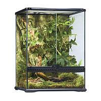 "Террариум стеклянный, для маленьких рептилий и амфибий ""Exo Terra Natural Terrarium Small"" (45х45х60 см)"