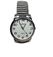Часы мужские кварцевые YaWeiSi Big на браслете резинка