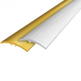 Порог для пола алюминиевый 30мм, 3см, 6А, скрытый монтаж, длина: 0,9м; 1,80м; 2,7м, крашеные, ламинат.